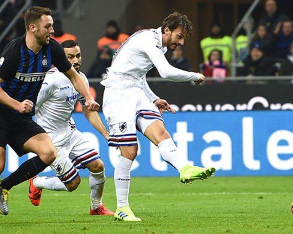Gabbiadini Inter Sampdoria