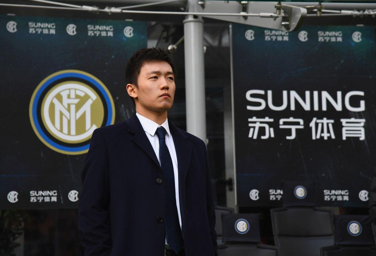 zhang conte inter scudetto goldman sachs cessione inter suning